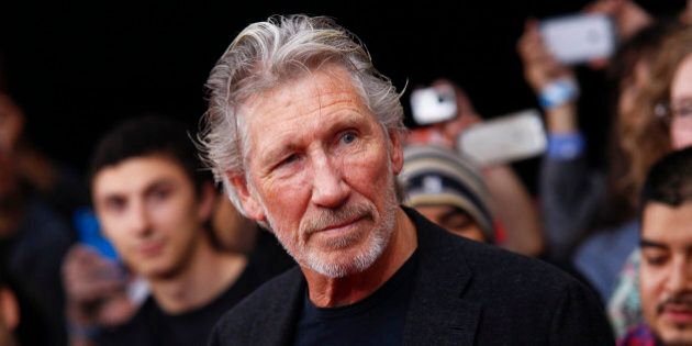 Roger Waters attends the premiere