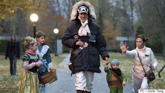 Halloween: Découvrez comment s'est déguisée la famille Trudeau