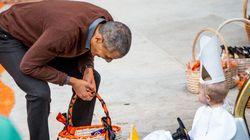 La photo cute du jour: un bébé déguisé en pape fait rire
