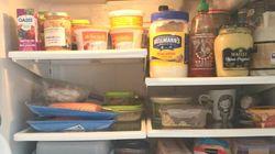 Dans le frigo... d'Isabelle