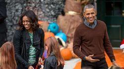On fête l'Halloween à la Maison Blanche