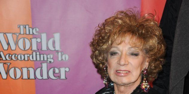Holly Woodlawn attends