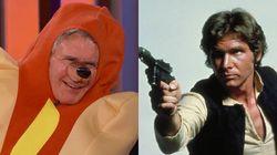 Harrison Ford déguisé en hot dog... à tête de chien
