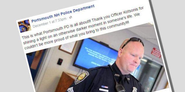 Un policier règle la note au lieu d'arrêter une mère qui avait volé de quoi faire un gâteau d'anniversaire...