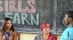 Au Liberia, Michelle Obama invite les jeunes filles à lutter «pour rester à