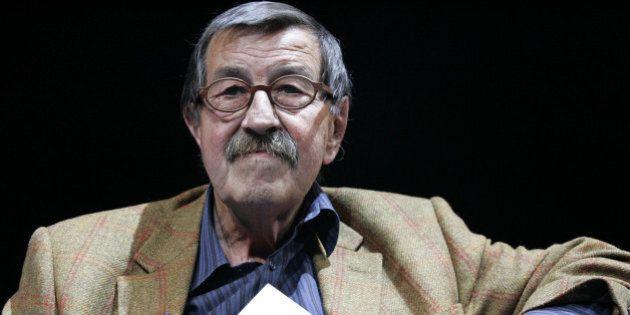 German Literature Nobel prize winner Gunter Grass introduces his new book