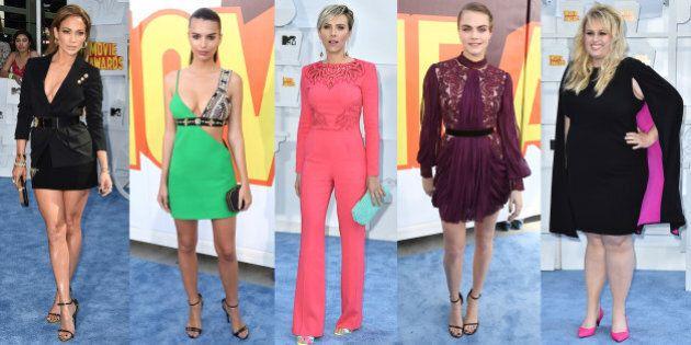 Voyez les stars sur le tapis rouge des MTV Movie Awards