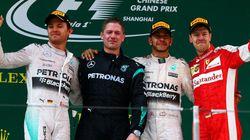 F1 Chine: doublé Mercedes pour Hamilton et