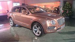 Le Bentley Bentayga est arrivé à Montréal
