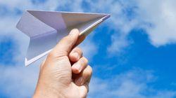 Un avion de papier ébranle le