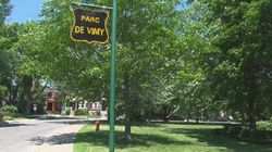 Le parc de Vimy deviendra le parc