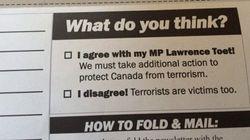 L'envoi postal douteux d'un conservateur en appui à