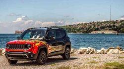 Ce Jeep Renegade avec des flammes existe