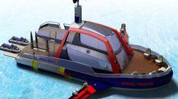 Le Sea-Bull: un bateau de wakesurf