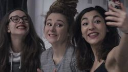 Les filles de L.E.J. reprennent «Get Lucky» dans les rues de Montréal