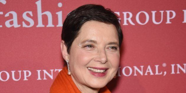 NEW YORK, NY - OCTOBER 23: Isabella Rossellini attends the 31st Annual FGI Night of Stars event at Cipriani...