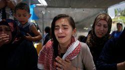 Des Palestiniens enterrent un trisomique atteint par des balles