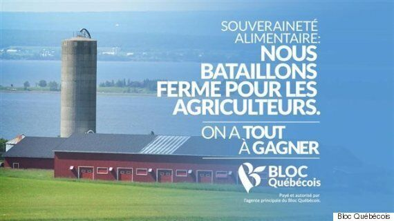 Le Bloc québécois à la défense des agriculteurs... de