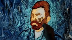 Il recrée les tableaux de Van Gogh sur