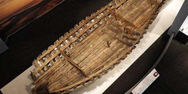 Les vestiges d'une frégate datant de la Nouvelle-France restaurés au