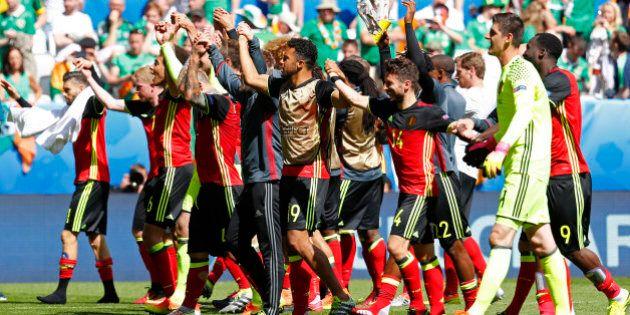 Football Soccer - Belgium v Republic of Ireland - EURO 2016 - Group E - Stade de Bordeaux, Bordeaux,...