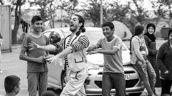 Carnet de voyage d'un clown: camp de réfugiés