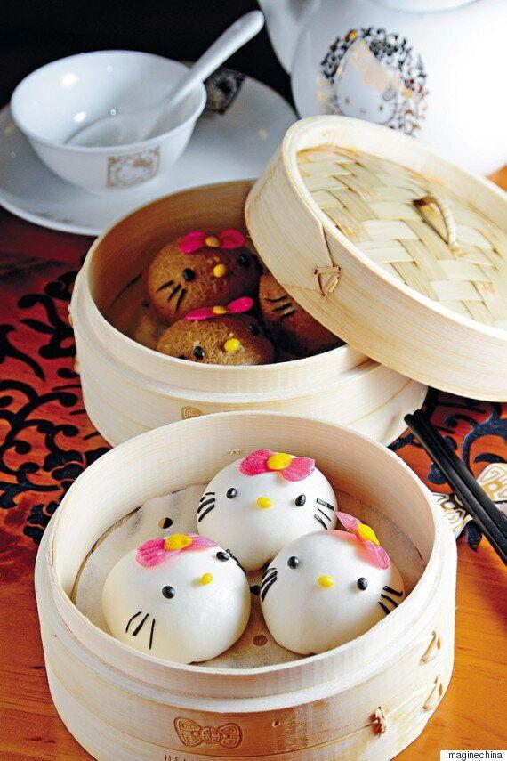 Un restaurant de dim sum thématique a ouvert à Hong Kong avec pour thème... Hello Kitty