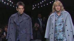 Zoolander 2: Owen Wilson et Ben Stiller défilent pour Valentino à Paris