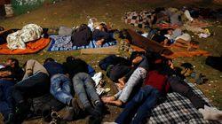 Confusion et désespoir dans un camp de migrants en