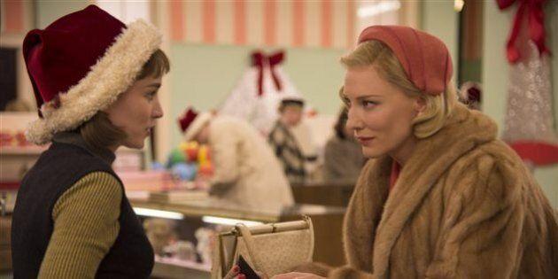 À trois mois des Oscars, Carol est sacré meilleur film par les critiques de New