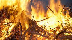 Vaste interdiction de feux à ciel ouvert à compter de