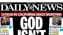 Le Daily News en a vraiment assez des fusillades aux États-Unis: voyez sa