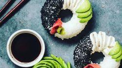 Après le sushi burger, dites bonjour au sushi en forme de