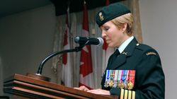 Une première femme à la tête de l'infanterie du