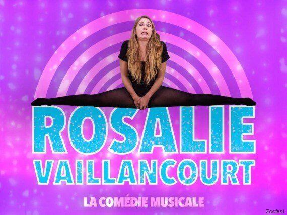 Rosalie Vaillancourt présente sa comédie musicale à
