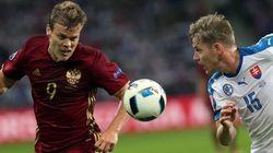 La Slovaquie bat la Russie