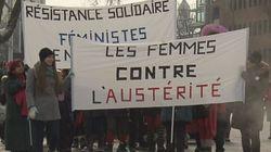 Austérité: manifestations timides à
