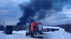 Déraillement en Ontario: écoulement de pétrole confirmé