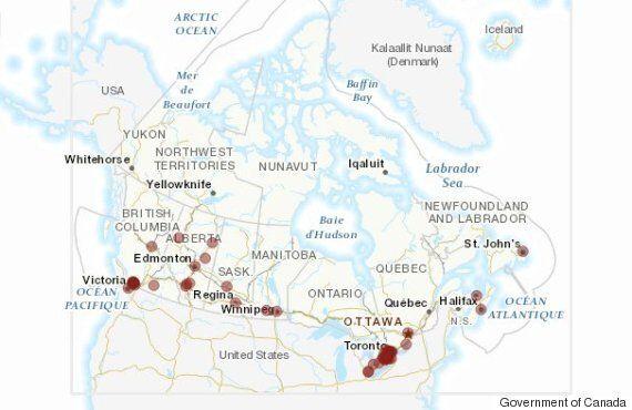 Ailleurs au Canada, quelles municipalités sont les plus ouvertes à recevoir des réfugiés syriens?