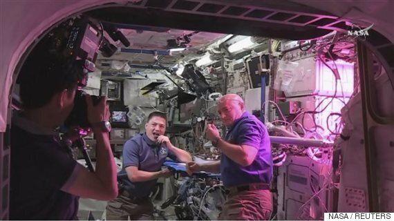 Produire sa propre nourriture dans l'espace, c'est