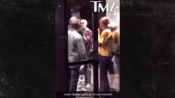Justin Bieber mis à terre lors d'une bagarre