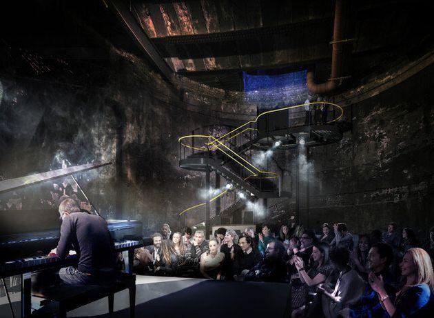 Le tunnel sous la Tamise à Londres bientôt transformé en salle de