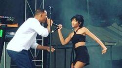 Willow Smith laisse son papa Will rapper avec elle sur scène
