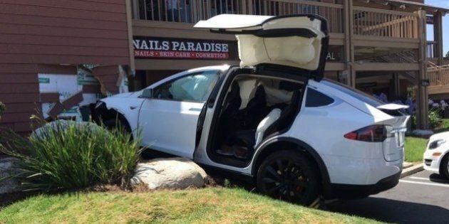 Accident de Tesla Model X : l'erreur serait