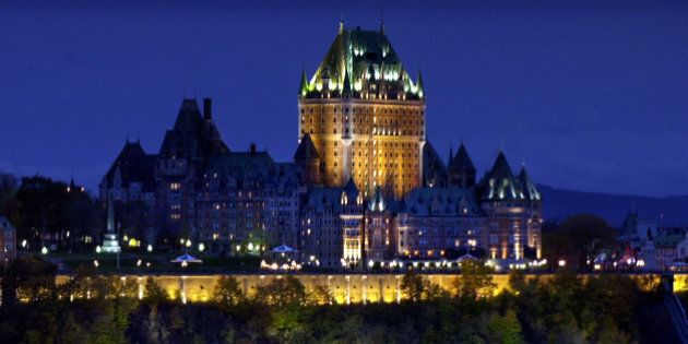 ** TO GO WITH STORY SLUGGED CANADA QUEBEC 400 AÑOS ** ** FILE ** In this file photo from Oct. 23, 2003,...