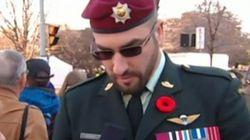 Franck Gervais, le «faux soldat» du jour du Souvenir, plaide