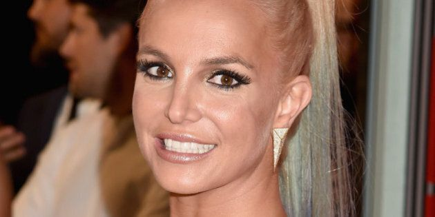 LOS ANGELES, CA - AUGUST 30:  Recording artist Britney Spears attends the 2015 MTV Video Music Awards at Microsoft Theater on August 30, 2015 in Los Angeles, California.  (Photo by Jeff Kravitz/FilmMagic)