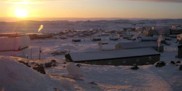 The town of Iqaluit, Nunavut is shown Wednesday Feb. 3, 2010. Iqaluit, population 7,000, may seem an...