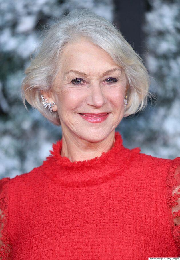 Helen Mirren aimerait que les visages sans maquillage soient à la