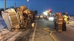 Incident à Notre-Dame-des-Neiges: un camion